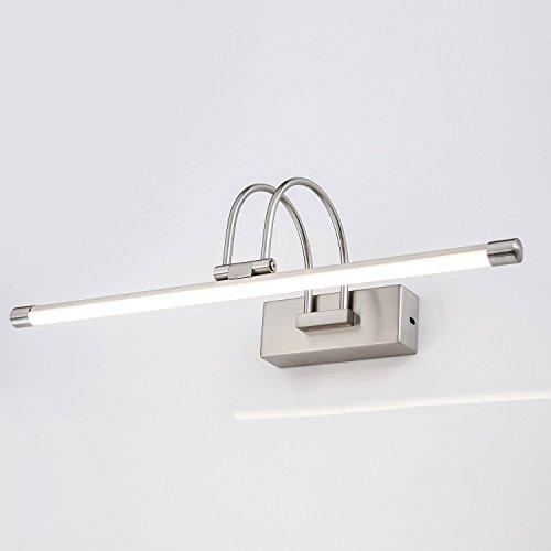 Luz Baño Led Lámpara para Espejo 36 cm 180 ° Ángulo ajustable 5w para Pared  Frontal de Maquillaje Iluminacion para Cuarto de Baño Acrilico y ...