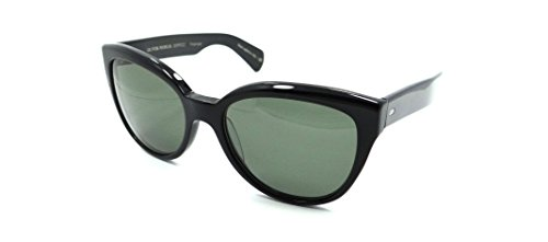 Oliver Peoples Sunglasses Abrie 5313SU 10059A 58x19 Black / G15 Polarized - Sunglasses Wayfarer Oliver Peoples