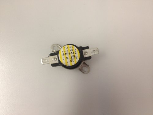 Price comparison product image Whirlpool Part Number 4451442: Thermostat (TOD) (Temp.) SPST