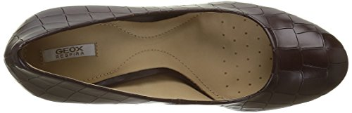 Geox D New Mariele High a, Zapatos de Tacón para Mujer Rot (DK BURGUNDYC7357)