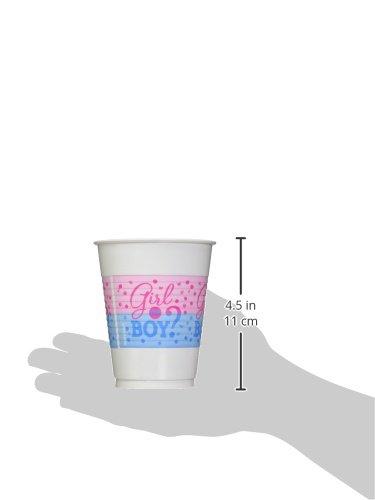 Plastic Cups AMI 421573 Amscan Girl or Boy