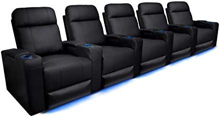 Valencia Piacenza Home Theater Seating Premium Top Grain Leather