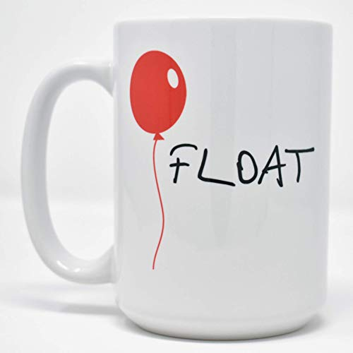 Float IT Red Balloon Pennywise Dishwasher Safe Coffee Mug (15 oz)