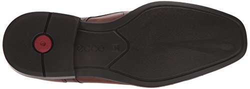 Ecco Mens Cairo Apron-toe Oxford Ambra