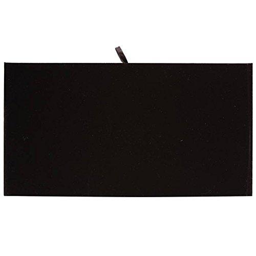 (Luxurious Black Velvet Jewelry Display Pads 14 1/8
