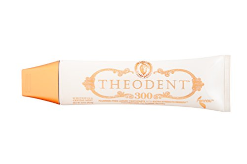 Theodent Whitening Crystal Mint, Clinical Strength, Fluoride-Free Toothpaste Rebuilds by Theodent