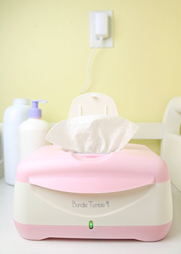 Bundle Tumble ComfyClean Baby Wipe Warmer - Pink
