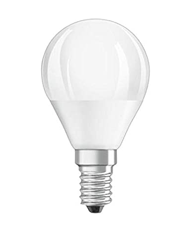 Osram Led Value Classic P40 E14 4000K. Bombilla Led 220-240v 5w 4000k e14. 470 Lumen. Equivale a 40w. 10.000 Horas. 82 x 45mm.: Amazon.es: Iluminación