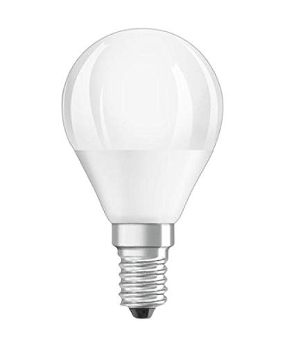 Osram Led Value Classic P40 E14 4000K. Bombilla Led 220-240v 5w 4000k e14. 470 Lumen. Equivale a 40w. 10.000 Horas. 82 x 45mm.: Amazon.es: Iluminación