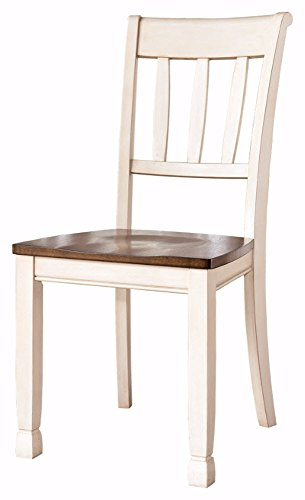 Ashley Furniture Signature Design - Whitesburg Dining Room Side Chair Set - Vintage Casual - Set of 2 - Two Tone (Rustic Dining Room Furniture Sets)