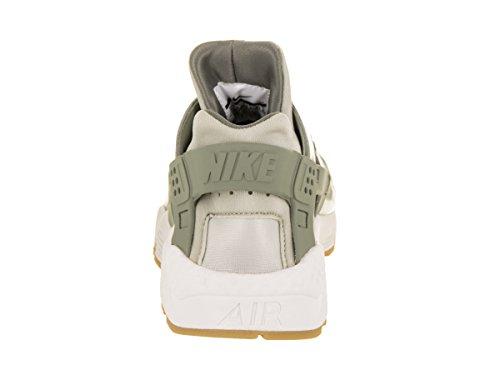 Nike Kvinnor Luft Huarache Running Shoe Mörk Stuckatur / Ljusgrå