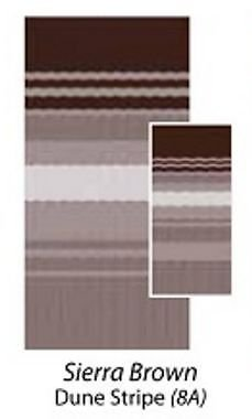 Sierra Brown Awning (Carefree 80188A00 Sierra Brown 18' Universal Replacement Fabric)