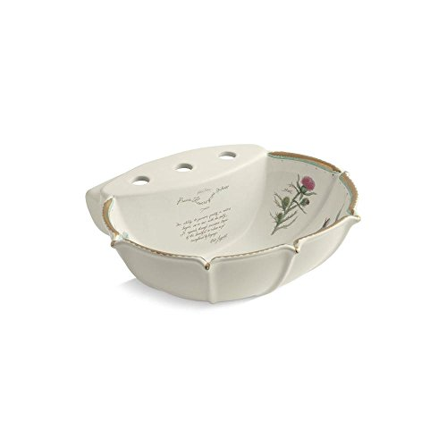 KOHLER K-14266-WF-96 Prairie Flowers Bathroom Sink Basin, (Kohler Prairie Flowers)