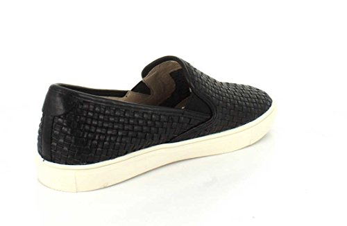 J Slides Donna Calina Fashion Sneaker In Pelle Nera