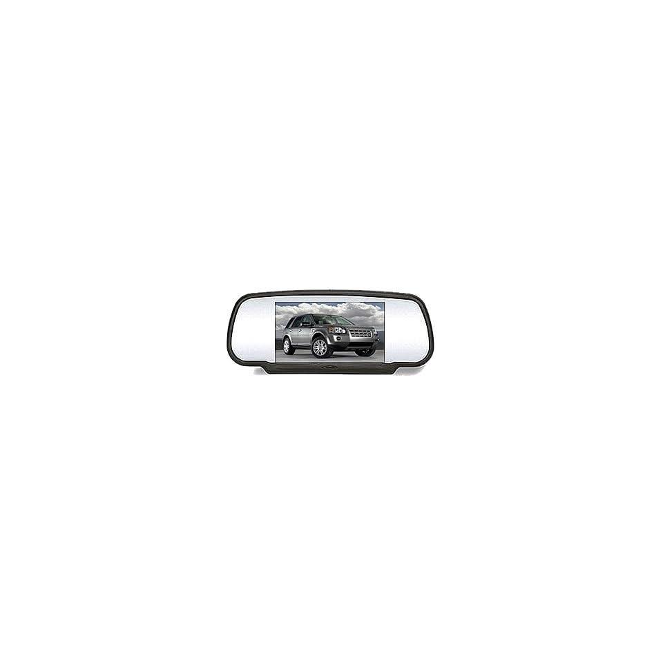 Car Rear View Mirror Monitor for DVD VCD CD TV  MP4 DIVX Car