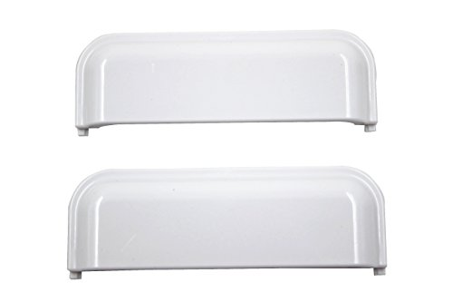 - W10861225 - W10714516 Door Handle for Whirlpool Appliance Dryer replaces Compatible for Amana, Crosley, Maytag, Whirlpool, Kenmore Roper -replacement parts (Pack of 2)