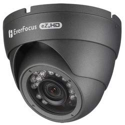EVERFOCUS Electronics CORPORAT | EBD935F IR Camera, Ball, PAL/NTSC, DWDR, Day/Night, Outdoor, 1920 x 1080 Resolution, F1.4 DC Iris 2.8 to 12 MM Lens, 12 Volt DC 3.5 Watt, White