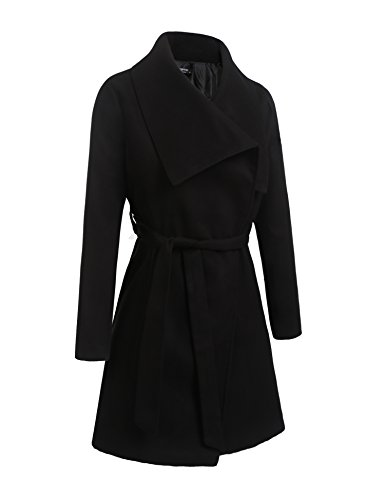 Wool Blend Hooded Coat - 7