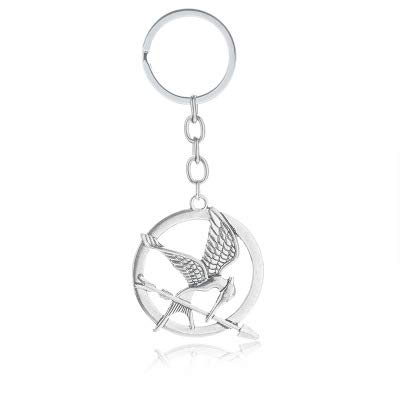 Amazon.com: The Hunger Games Keychain Popular Vintage Style ...