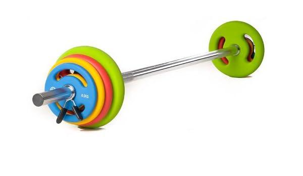 Oliver Prime Pump Set de pesas 16 kg mancuernas Juego Fitness ...