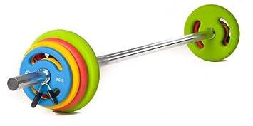 Oliver Prime Pump Set de pesas 16 kg mancuernas Juego Fitness Entrenamiento Pesos