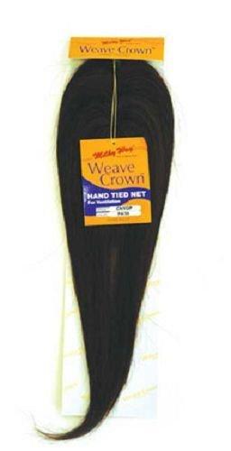 WEAVE CROWN - Shake N Go MilkyWay 100% Human Hair Closure #1B Off Black