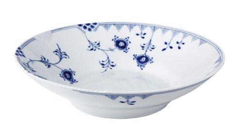 Blue Elements Pasta Bowl (Copenhagen White Porcelain)