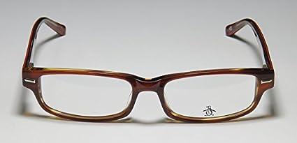 Original Penguin The Clemens Mens//Womens Designer Full-rim Spring Hinges Light Style Hip Eyeglasses//Glasses