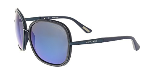 Guess by Marciano GM0734 92X Navy Rectangular - Sale Sunglasses Guess