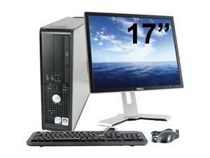 Dell optiplex 780 sff ecran 17 ordinateur de bureau gris