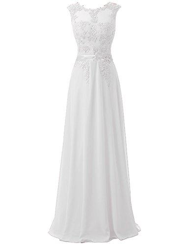 Beaded House White sd181 Dresses Long Celebrity Prom Women's Belle Chiffon Evening Gown 0xT0dvg