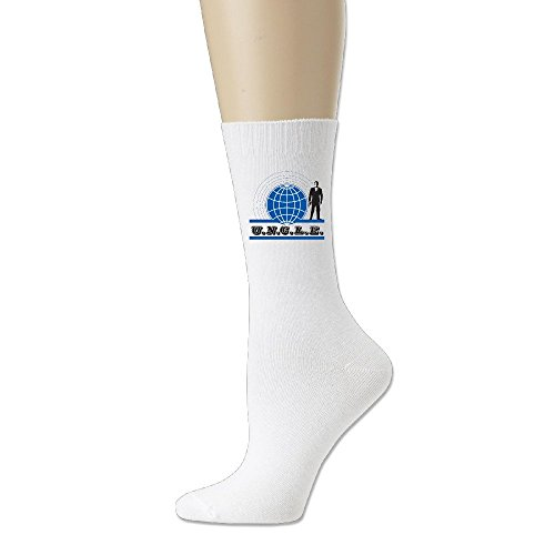 Unisex The Man From U.n.c.l.e. Personalize Custom Comfort Ultimate Crew Socks White
