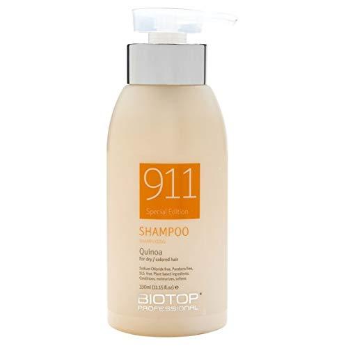Biotop Professional 911 Quinoa Shampoo for Damaged Hair 11.15 fl oz (330ml)