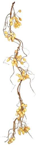 Fantastic Craft Hip Garland, 5.5-Feet, Yellow/Rose (Swags Rose Yellow)