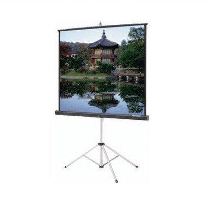 - Da-Lite Picture king HC Matte Home School Office Presentation Tripod Projector Screen 50 x 50 White by Da-Lite