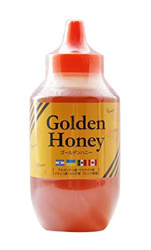 はちみつ 専門店 【かの蜂】 ゴールデンハニー 1kg ブレンド 純粋蜂蜜 (アルゼンチン・ウクライナ・メキシコ・カナダ産)