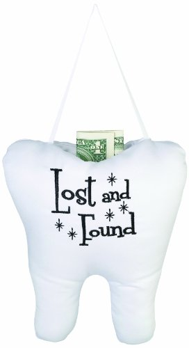 Lillian Rose Tooth Pillow, Lost And Found, 6.5
