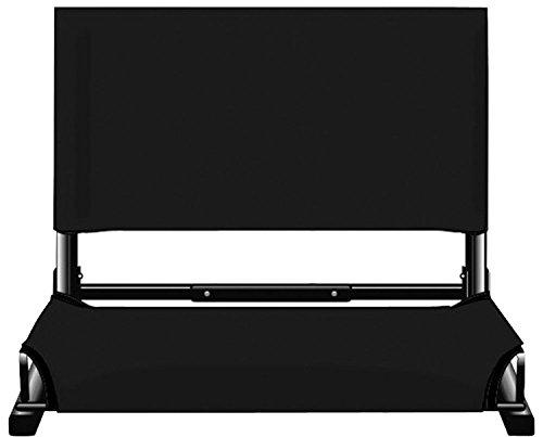 Markwort Patented Deluxe Wide Model Stadiumchair (Black)