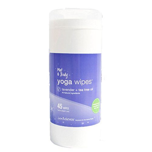 Mat Body Yoga Wipes Lavender