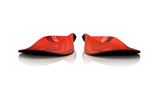 SOLE Signature Chris Davenport Thin, Red/Grey Mens 3.5-4 Men's/Women's 5.5-6 M US by Sole (Image #5)