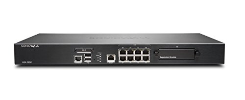 Dell Security SonicWALL Nsa 2600 Appliance Only (01-SSC-3860)