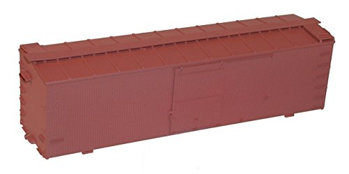 (36' Double-Sheathed Wood Boxcar w/Steel Roof, Wood Ends, Straight Underfram -- Undecorated)