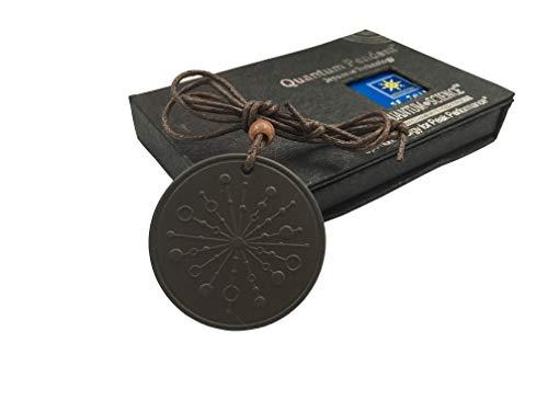 Anti EMF Radiation Protection Pendant, Scalar Energy Pendant Volcanic Lava Negative Ions Energy Pendant Necklace Orgone Pendant, Black Tourmaline, Electromagnetic Field Protection from Goodlee