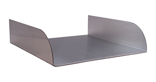 Lombardi 12'' Spa-to-Pool & Water Feature Spillway - Stainless Steel by Majestic Water Spouts