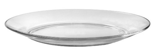 Duralex - Lys Clear Dinner Plate 23,5 cm (9 1-4 in) Set Of 6 (Dinner 1 Plates)