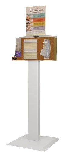 BOWMAN KS010-0434 Floor Stand, All Steel, 36.06'' Height, 18.00'' Width, 18.00'' Length