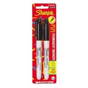 Sharpie Permanent Markers, Fine Point, Black Ink, Pack of 288 (30162)