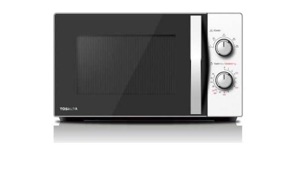 Toshiba MW-MG20PWH, 20 litros, acero: Amazon.es: Hogar