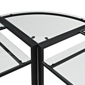 Custom Black Metal Frame For Computer Gaming Desk Posh Black Computer