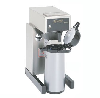 Bloomfield 8785-A Gourmet 1000 Airpot Brewer, Pour-Over Option, 14'' Depth, 10'' Width, 21 1/2'' Height by BLOOMFIELD